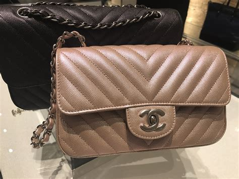 Jual Tas Chanel Mini Rectangle Pink Metallic Shw Original post your pink purple chanel items here page