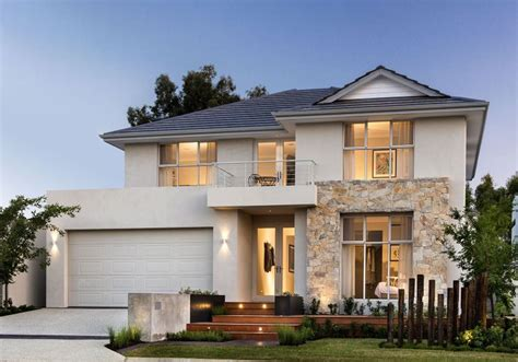 coombs display house to feature on australia s best houses feature stone elevation at the avalon display home by webb