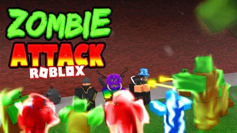imagenes terrorificas de zombies 60 000 personas en zombie attack de roblox youtube