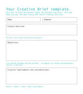 Creative Brief Template Free sle creative brief template 9 free documents in pdf