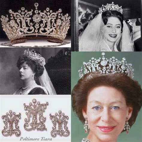 princess margarets poltimore wedding tiara 17 best images about jewelry of british royalty on