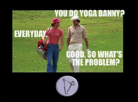 Caddyshack Meme - caddyshack yogimovies yoga memes pinterest