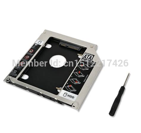 Harddisk Laptop Lenovo sata 2nd drive hdd ssd caddy for lenovo ideapad z50