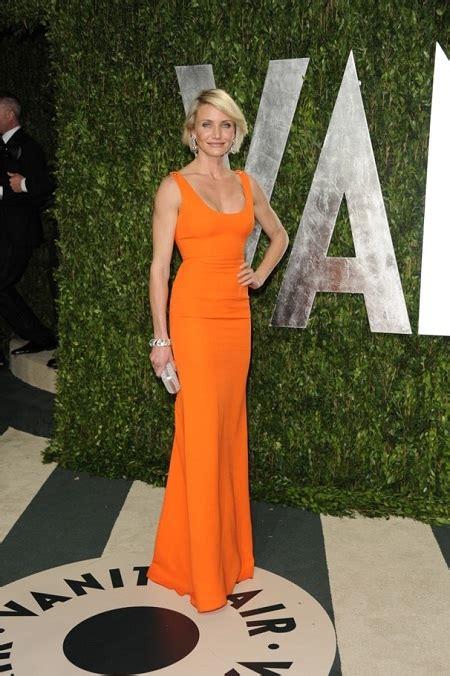 Oscars Liveblog Cameron Diaz And Hudson by Vanity Fair Oscar 2012 Class Fashionista