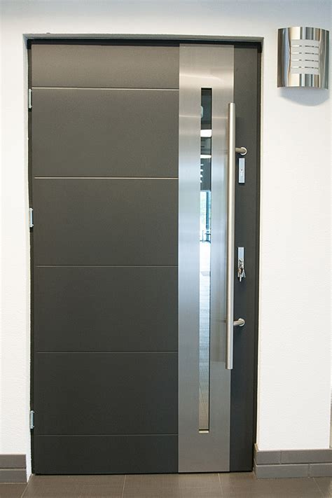 Exterior Steel Door With Window Modern Exterior Doors Stainless Steel Modern Entry Door With Glass Doors Modern