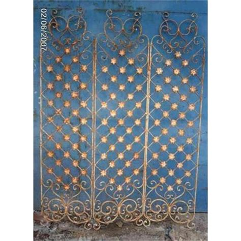 iron room divider wrought iron room divider screen paravan 1602657