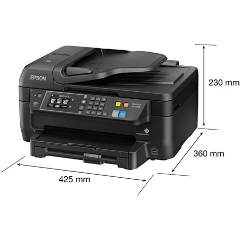 color printer scanner epson workforce wf 2760 all in one wireless color printer