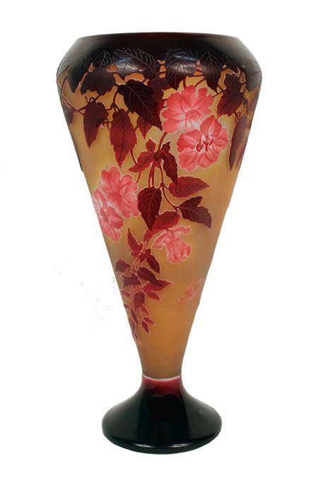 emile galle vase monumental nouveau vase by emile galle modernism