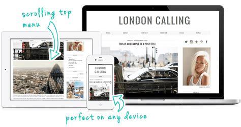 templates blogger modern london calling a modern minimal blogger blogspot template