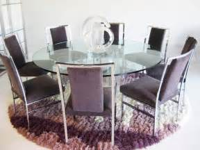 glass top dining table round home design ideas