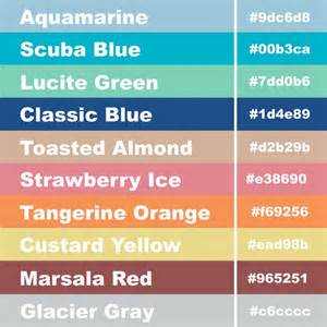 color hex codes hex code pantone color palette for 2015 aquamarine