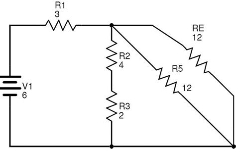 resistor circuit combination resistors in series and parallel combination of networks