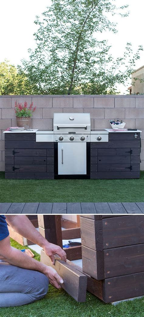 diy grill surround adds class  lots  extra
