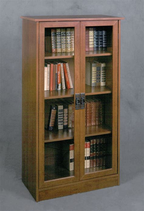 ameriwood 3 shelf bookcase with doors best 25 glass door bookcase ideas on glass