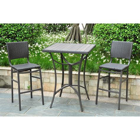 Bar Height Bistro Patio Set Awesome Patio Furniture Superb Bistro Patio Furniture Clearance