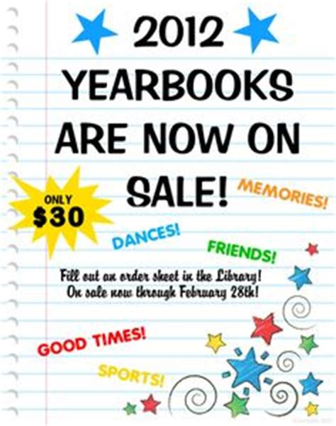1000 Images About Yearbook Posters On Pinterest Yearbook Flyer Template