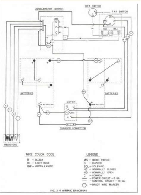 ezgo gas solenoid wiring diagram get free image about