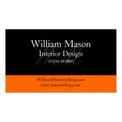 professional business cards black orange professional business card zazzle