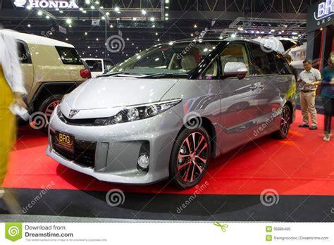 toyota estima thailand toyota estima hybrid car on thailand international motor