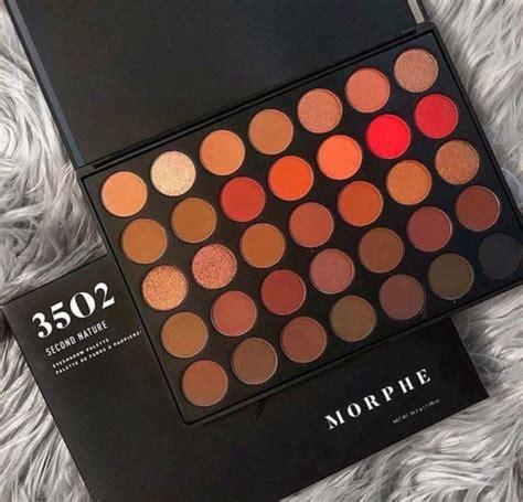 Morphe 35o Eyeshadow Palette morphe 35o 2 second nature makeup eyeshadow palette