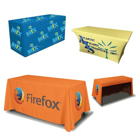 trade show table throw lush banners 4ft trade show table throw