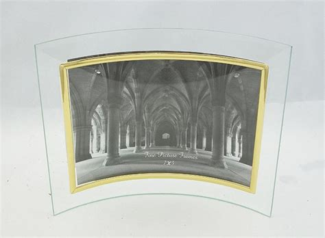 plus picture frames glass picture frame 7x5 gold