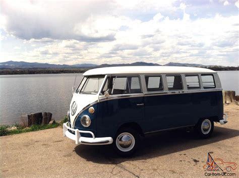 1966 vw volkswagen kombi deluxe 13 window
