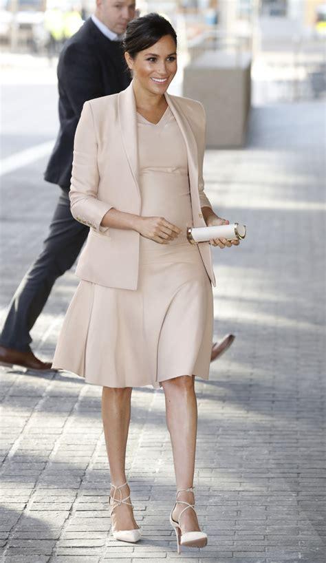 meghan markle maternity dress newest  stylebistro