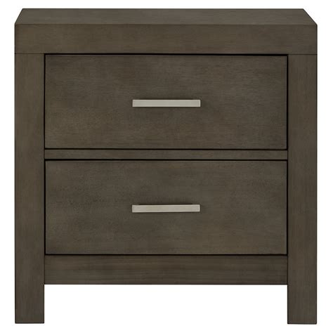 City Furniture Omaha Gray Nightstand Bedroom Furniture Nightstands
