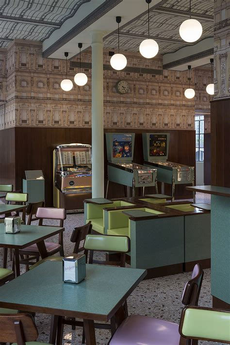 design cafe milan wes anderson has designed a very andersonian cafe in milan