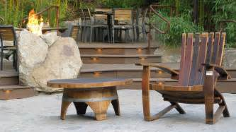 Wine Barrel Patio Furniture by The Timeless Style Of Reclaimed Wood Furniture Hungarian