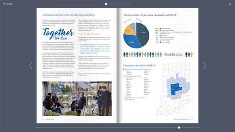 layout of a marketing report 20 annual report designs for your inspiration