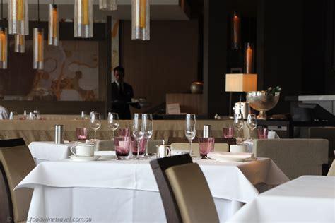 The Dining Room Hyatt by The Dining Room At The Park Hyatt Sydney Food Wine Travel