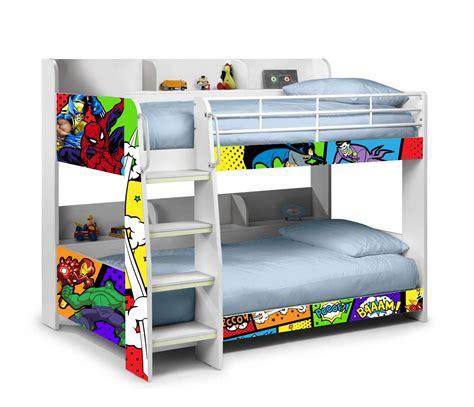 superhero bed domino superheroes bunk bed bunk beds ireland