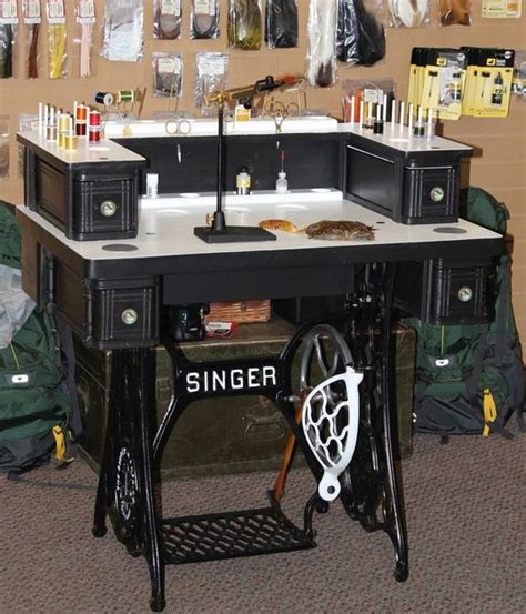 diy fly tying desk the world s catalog of ideas