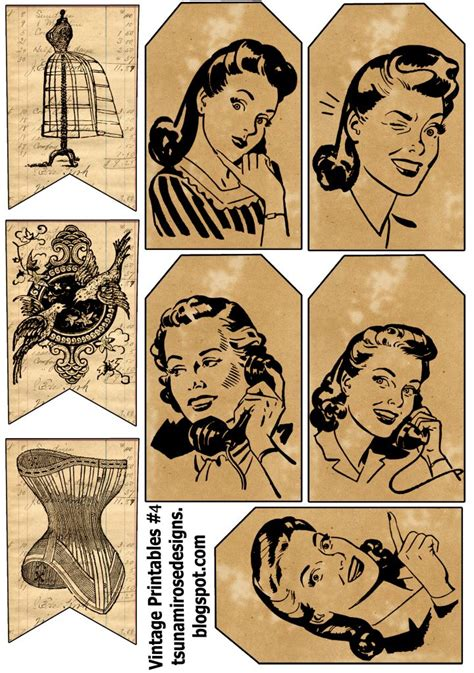 printable retro images 363 best images about printables on pinterest labels