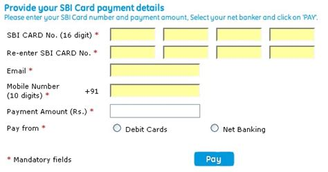 Sbi Credit Card Bill Desk Payment sbi bill desk billdesk