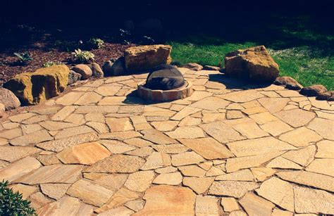 flagstone pit outdoor pits great goats landscapinggreat goats