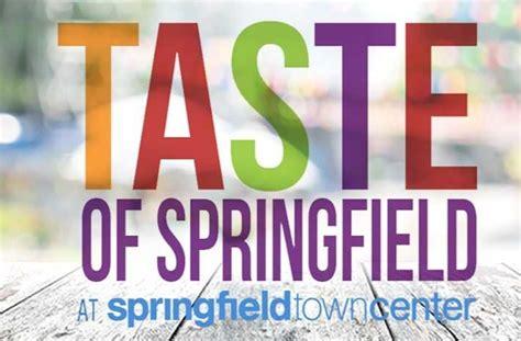 taste  springfield festival