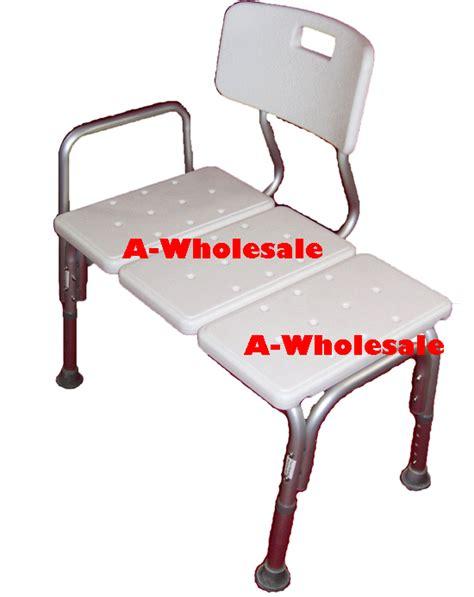 transfer bath bench with back bath transfer bench wheelchair to bathtub shower transfer