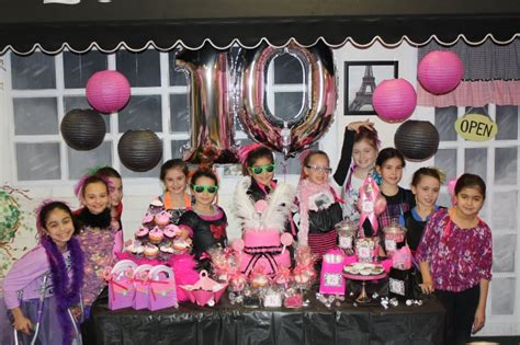 themed birthday parties for 11 year olds birthday party pictures for girls 3 13 photo gallery