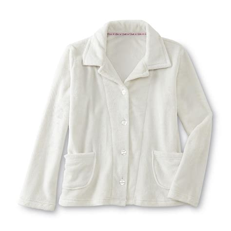 bed jackets for ladies laura scott women s plush fleece bed jacket