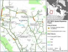 gas transmission map 2017 ngtl system expansion project resources canada
