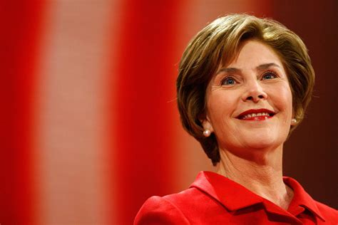laura bush laura bush praises obama endorses school speech nbc 6
