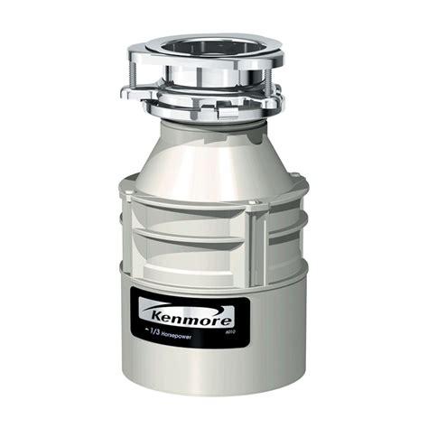 Kenmore Garbage Disposer 1/3 hp 9907   Sears