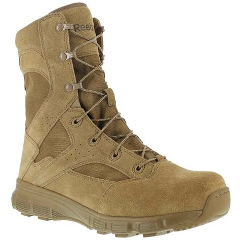 coyote brown boots reebok dauntless 8 inch coyote brown duty boot rb8822