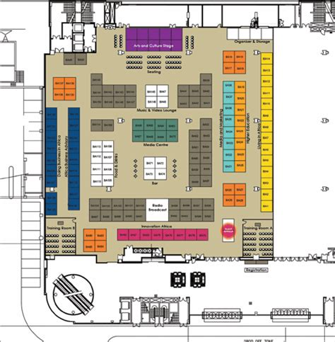 expo floor plan brand africa brand africa expo venue floor plan