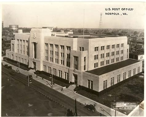 Post Office Norfolk Va by File United States Post Office And Courthouse 1934