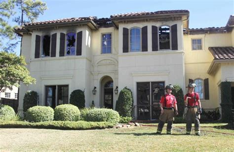 two alarm destroys home in the woodlands the courier