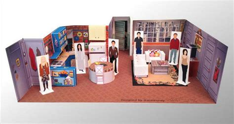 sitcom sets diy tv set dioramas television show sets
